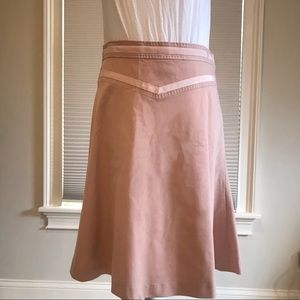 Marc Jacobs pink skirt with ribbon detail